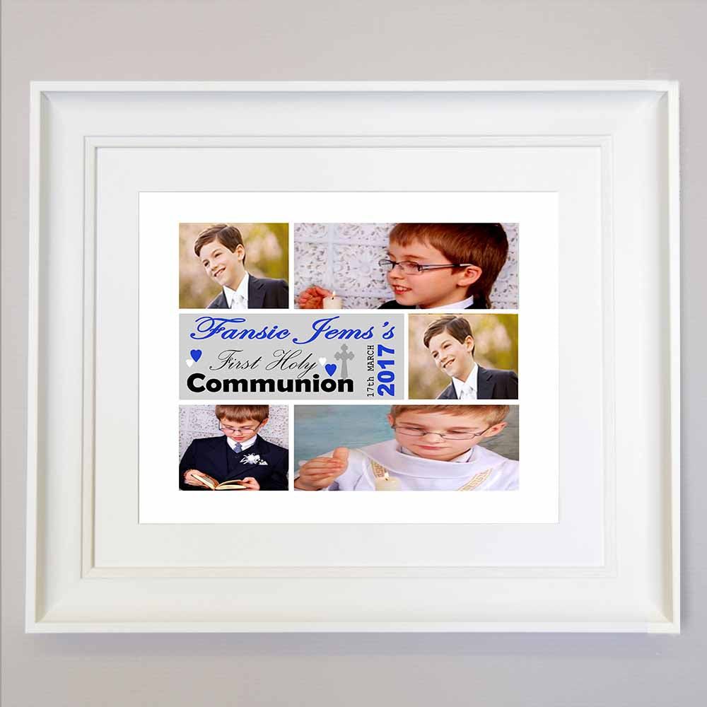 My Holy Communion Sentiment Wall art