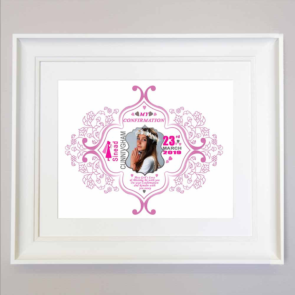 Butterfly Confirmation Wall Art - Do More With Your Pictures