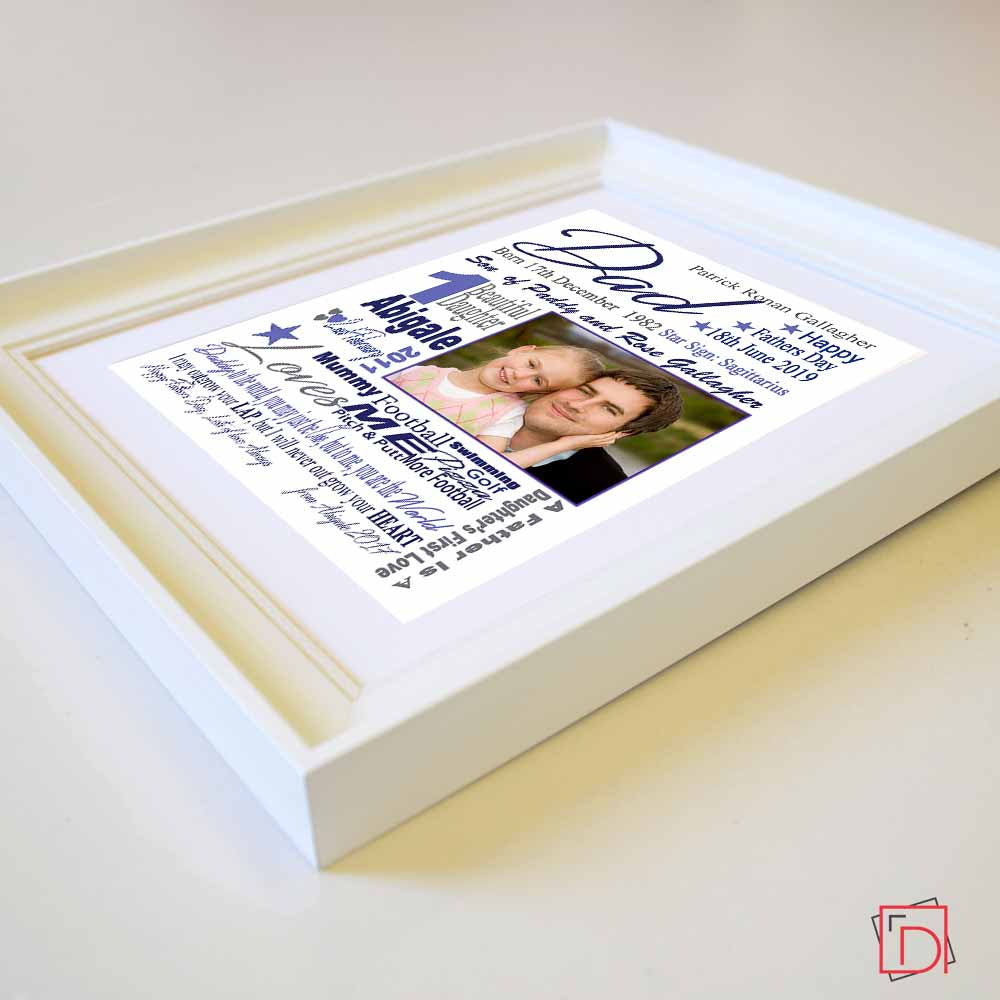 Never Out Grow Your Love Sentiment Gift Frame