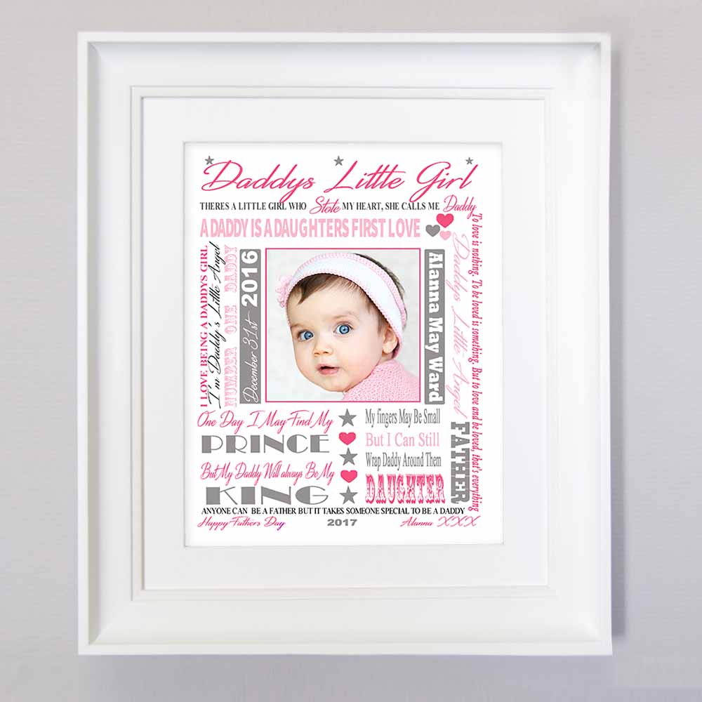 Dynamic Fathers Day Sentiment Gift Frame