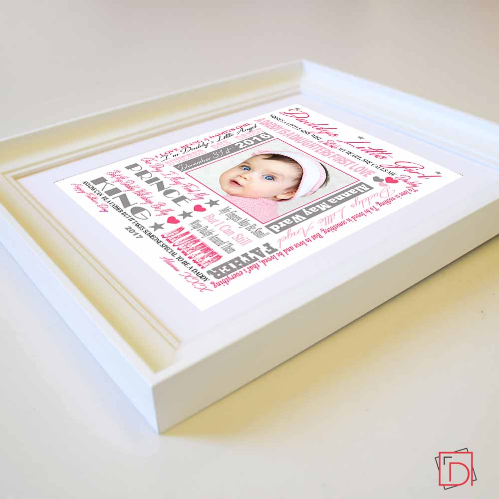 Dynamic Fathers Day Sentiment Gift Frame - Do More With Your Pictures