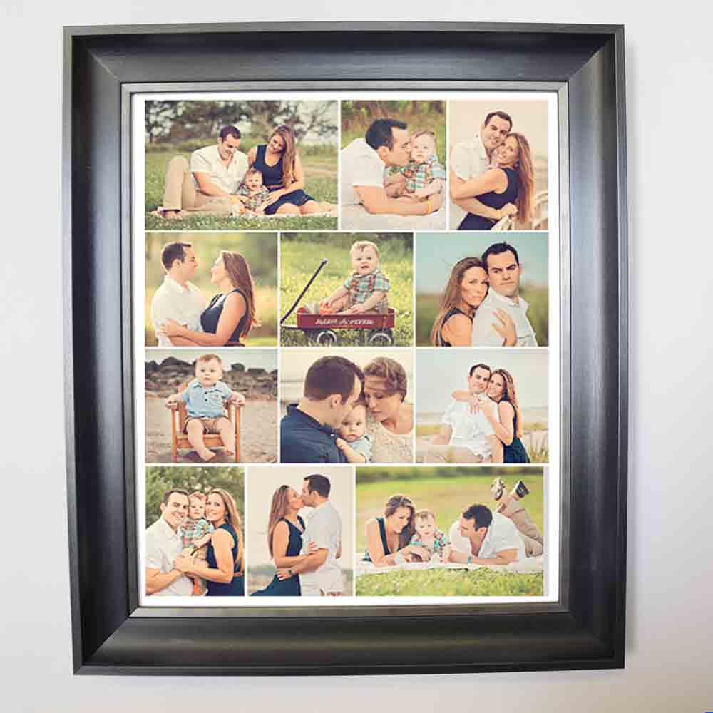 Beige Simple & Sleek Magical Framed Photo Collage