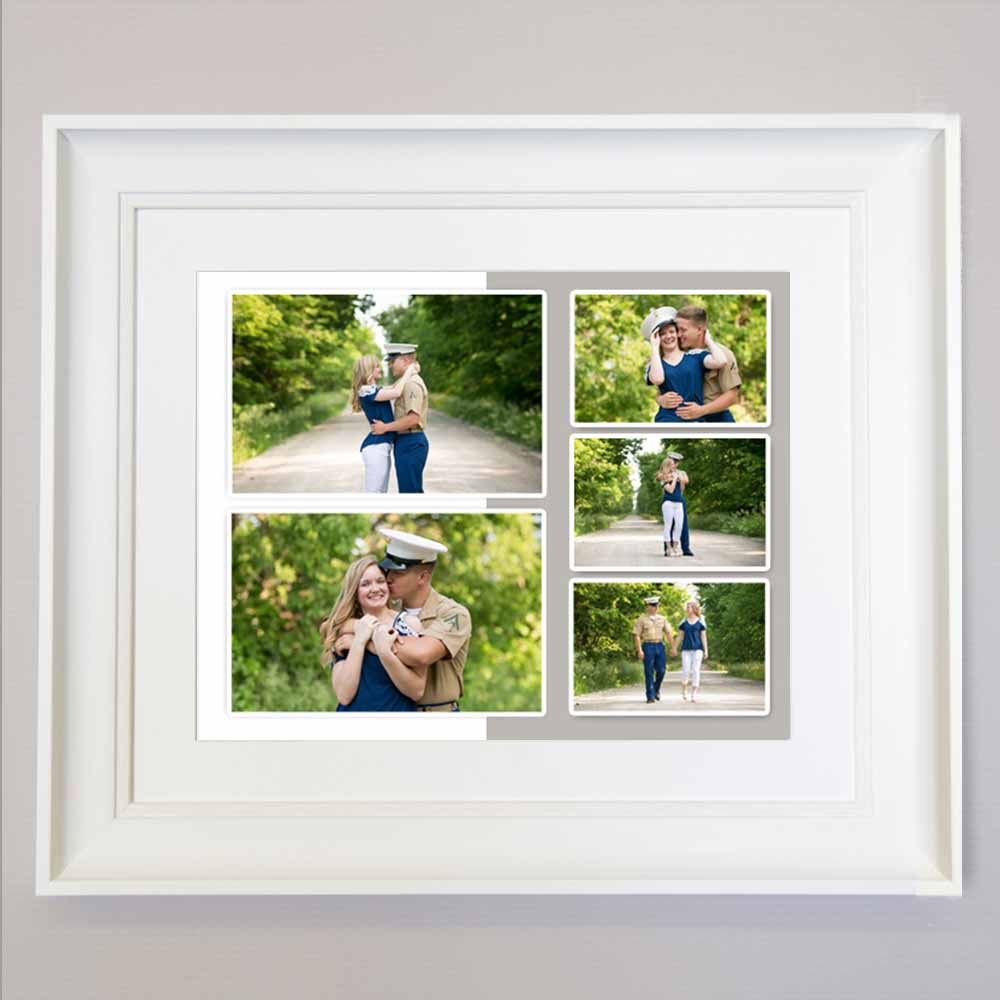 Just Us Together Photo Collage Wall Art