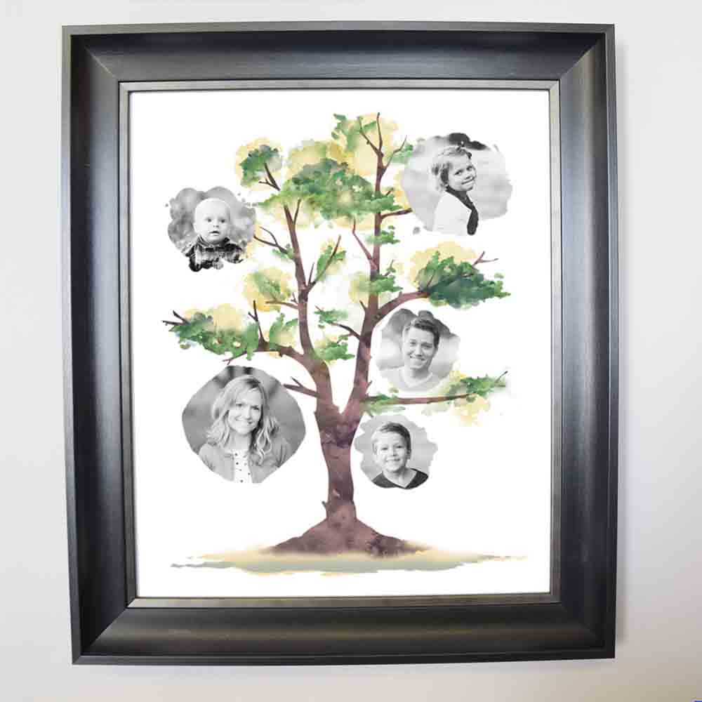 Our Family Framed Photo Collage
