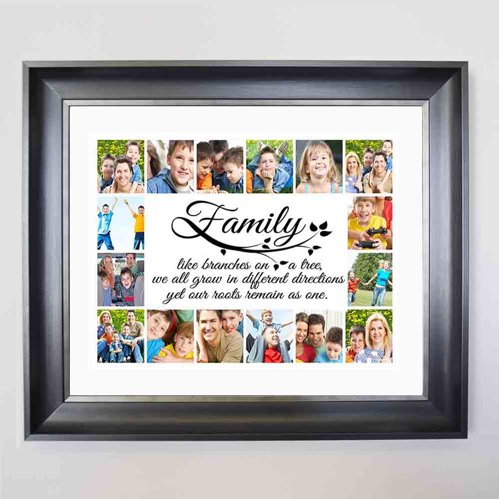 Family Branches Framed Picture Collage - Do More With Your Pictures