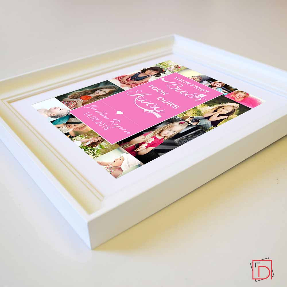 Your First Memories Photo Collage Wall Art