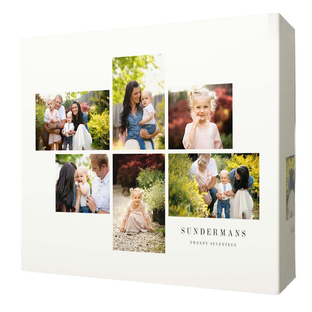 Family Moments Photo Collage Wall Art - Do More With Your Pictures