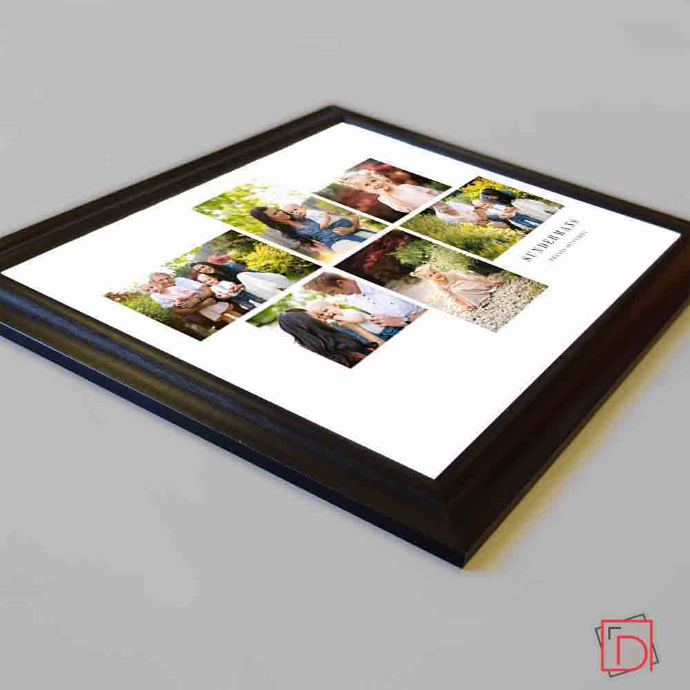Family Is Framed Photo Collage