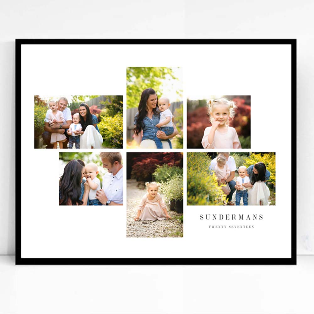 Family Is Framed Photo Collage - Do More With Your Pictures