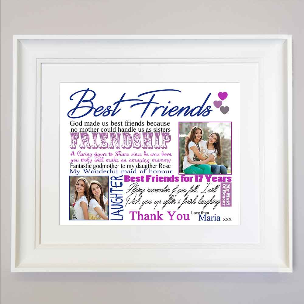 Life's Best Friendship Sentiment Frame