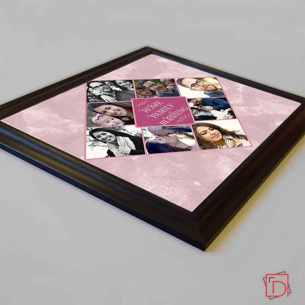 Home Family Blessing Framed Photo Collage - Do More With Your Pictures