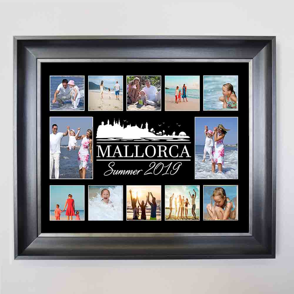 Family in Summer Holidays Photo Collage - Do More With Your Pictures