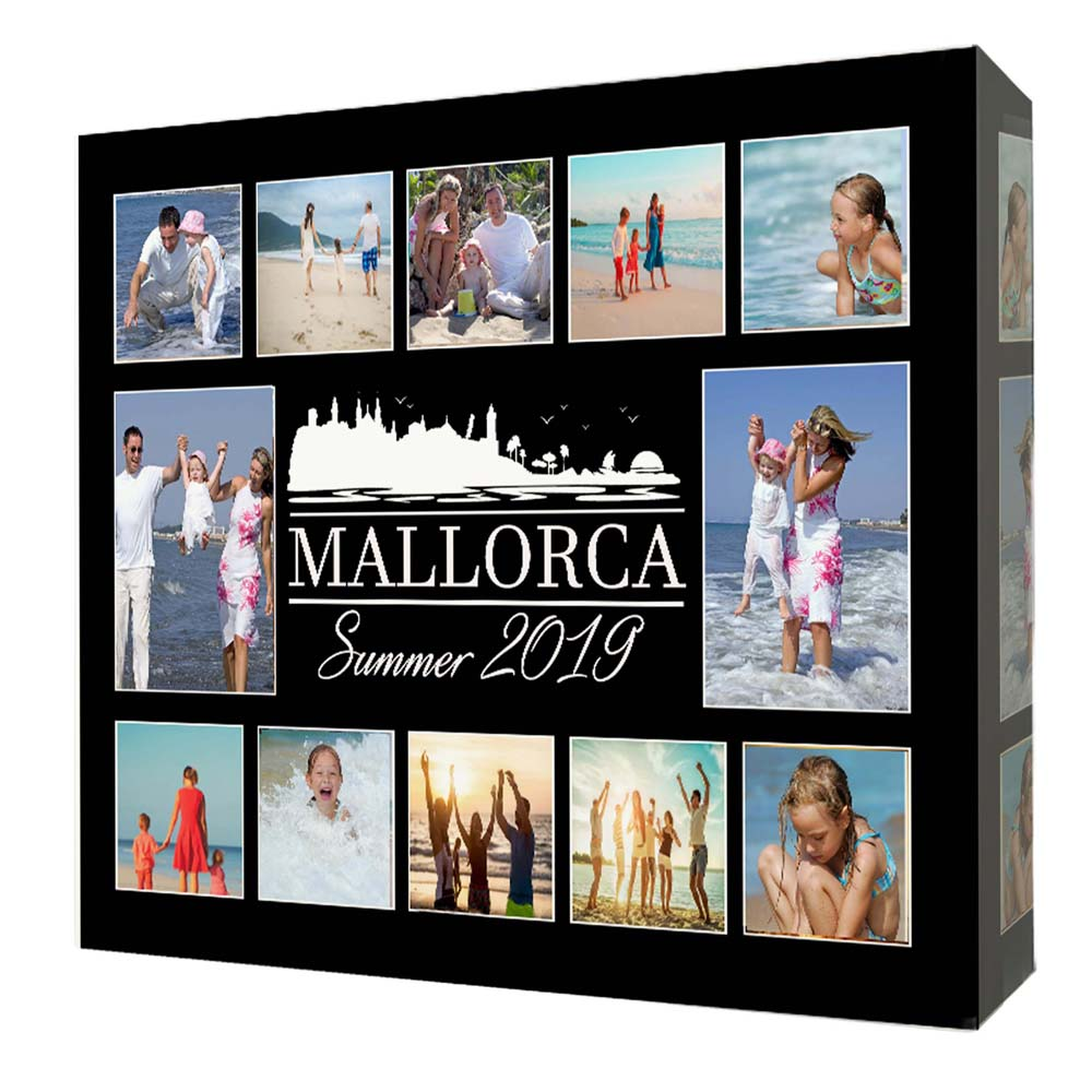 Any Destination Summer Holiday Canvas Art