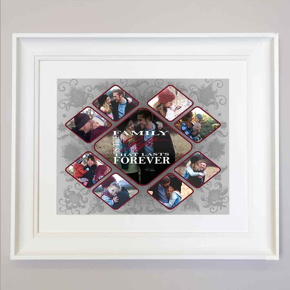 Family Is The Blessing Family Wall Art - Do More With Your Pictures