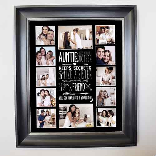 Aunty Like you a Mother Photo Collage - Do More With Your Pictures