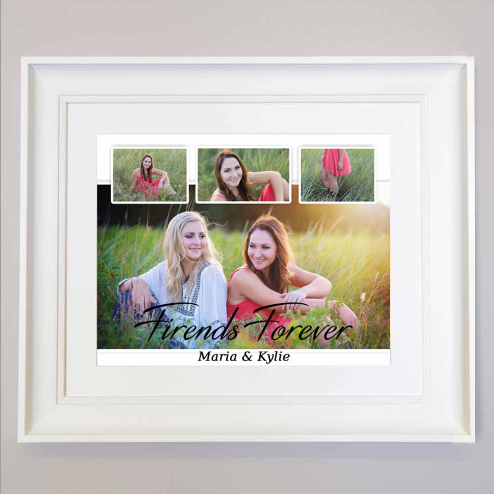 Friends Forever Sentiment Wall Art