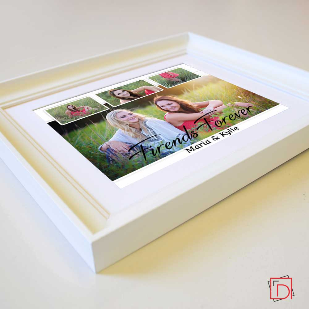 Friends Forever Sentiment Wall Art - Do More With Your Pictures