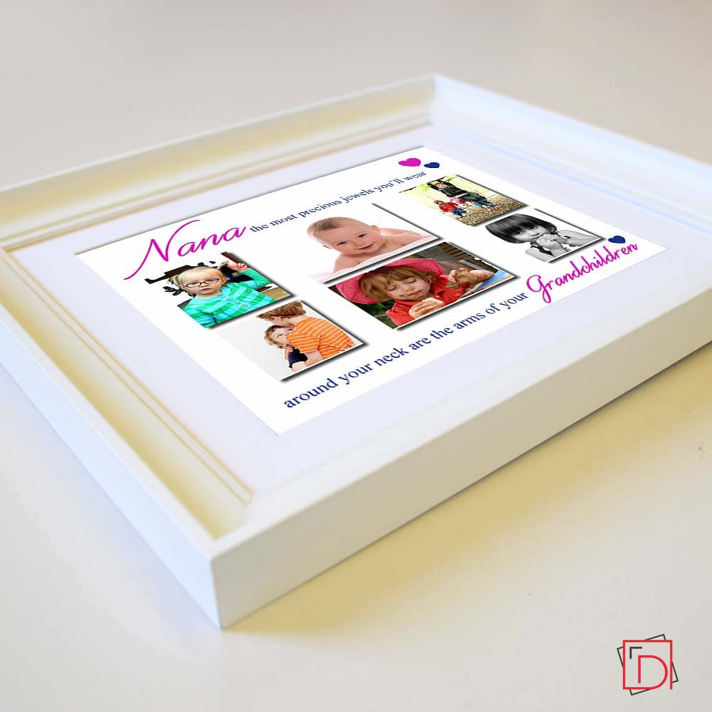 The Most Precious Jewels Sentiment Picture Frame