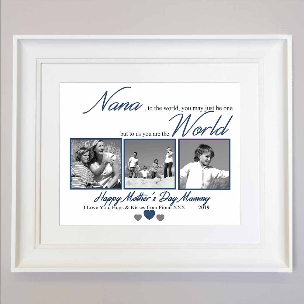 Granny To The World You Are One Sentiment Gift Frame