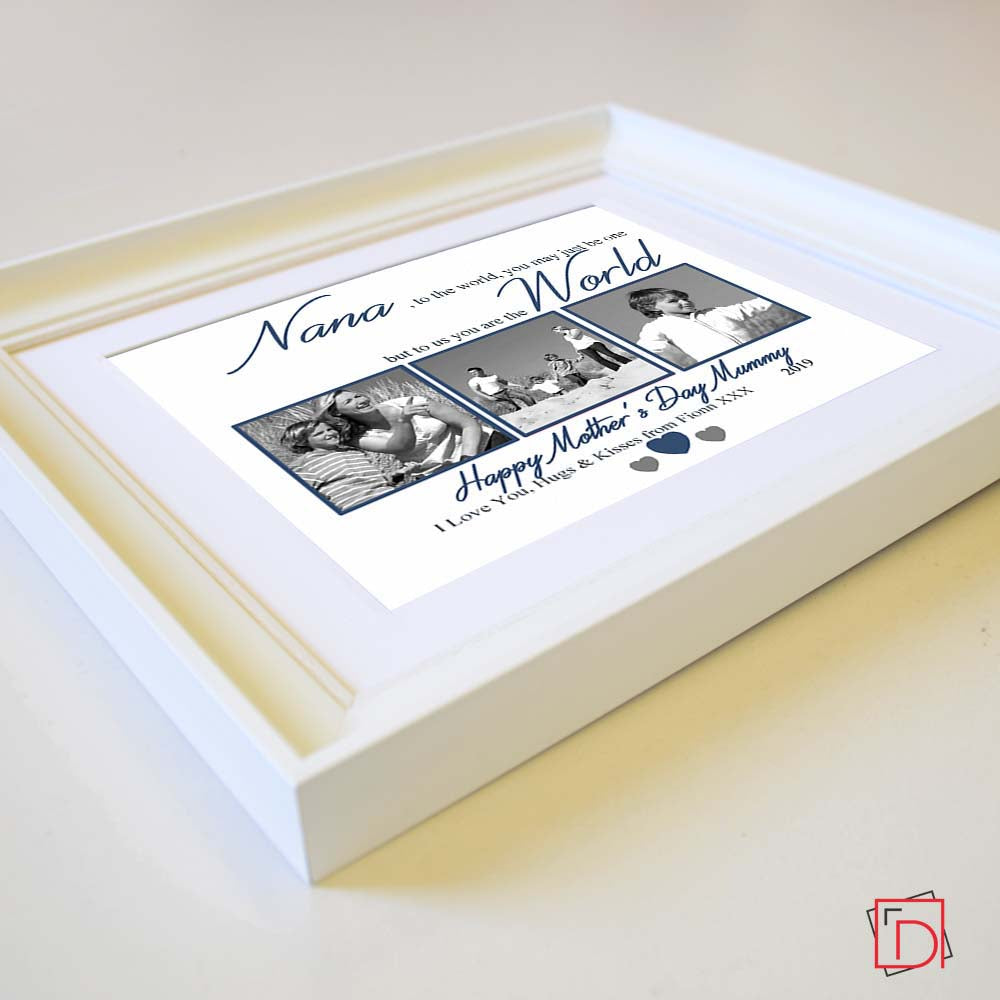 Granny To The World You Are One Sentiment Gift Frame - Do More With Your Pictures