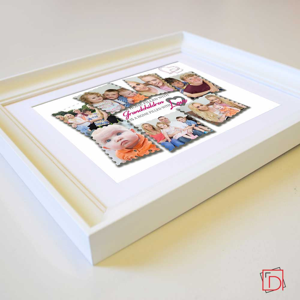 Extra Love with Grandchildren Framed Wall Art - Do More With Your Pictures