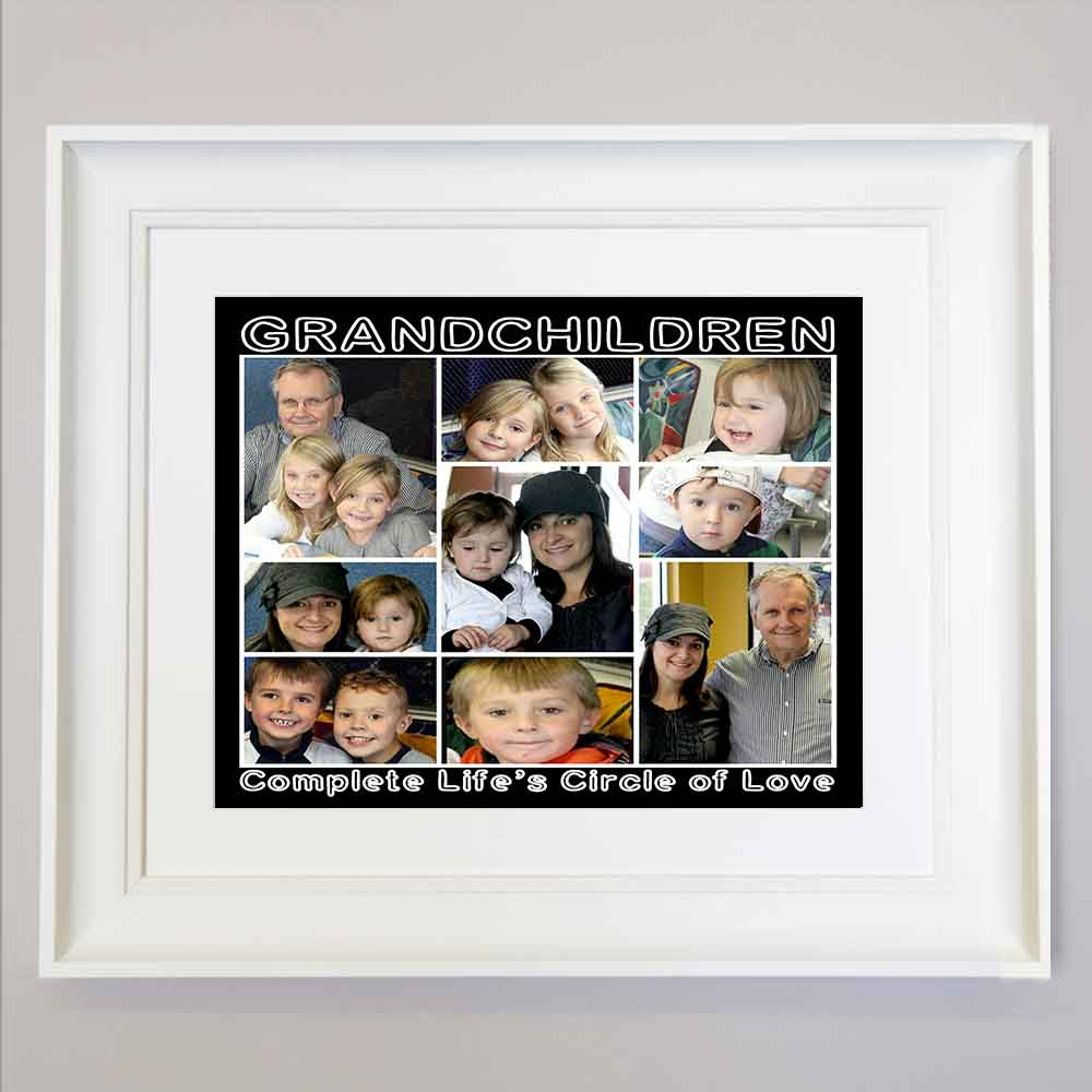 Complete Life Circle of Love Framd Wall Art - Do More With Your Pictures