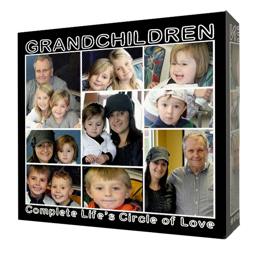 Complete Life Circle of Love Framed Photo Collage - Do More With Your Pictures