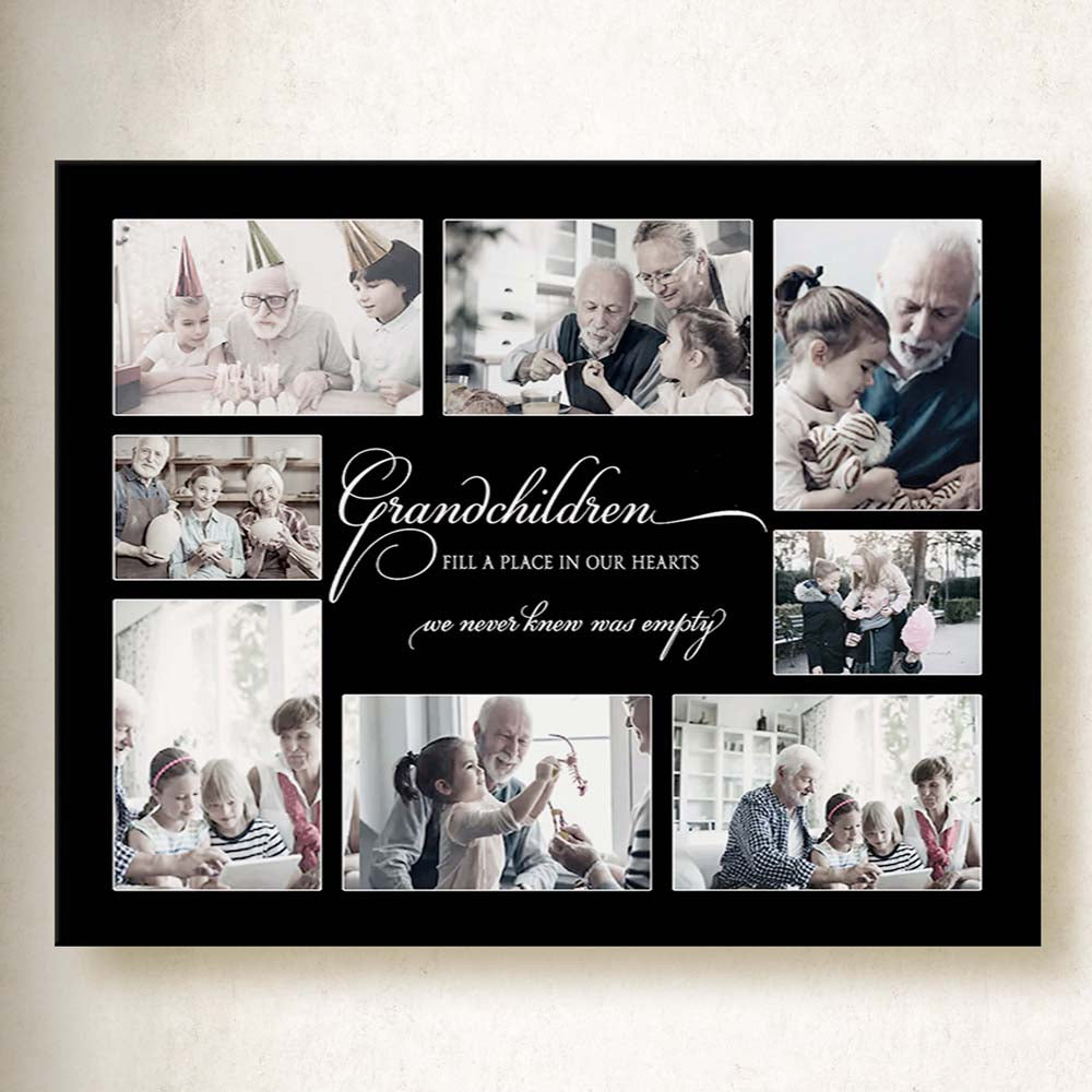 Grandchildren To The World On Canvas