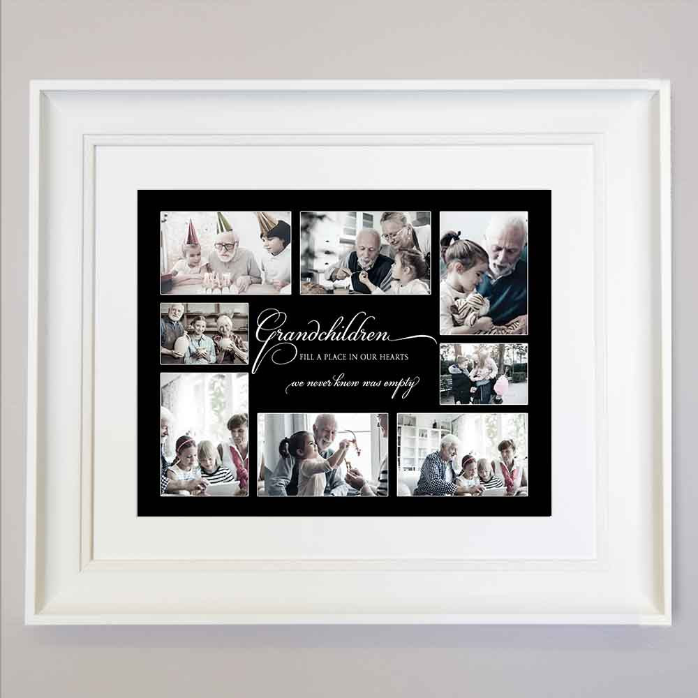 Love for Grandchildren Framed Photo Collage