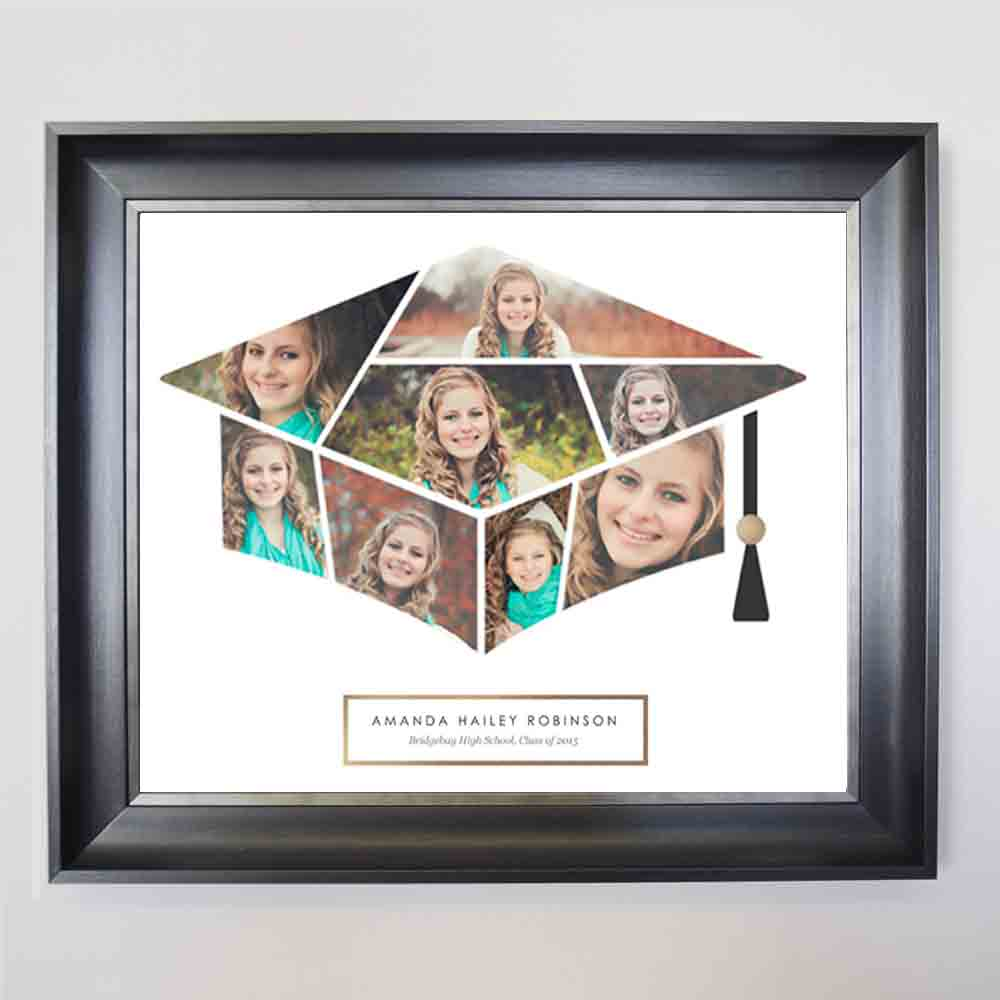 White Smoke My Graduation Framed Picture Collage