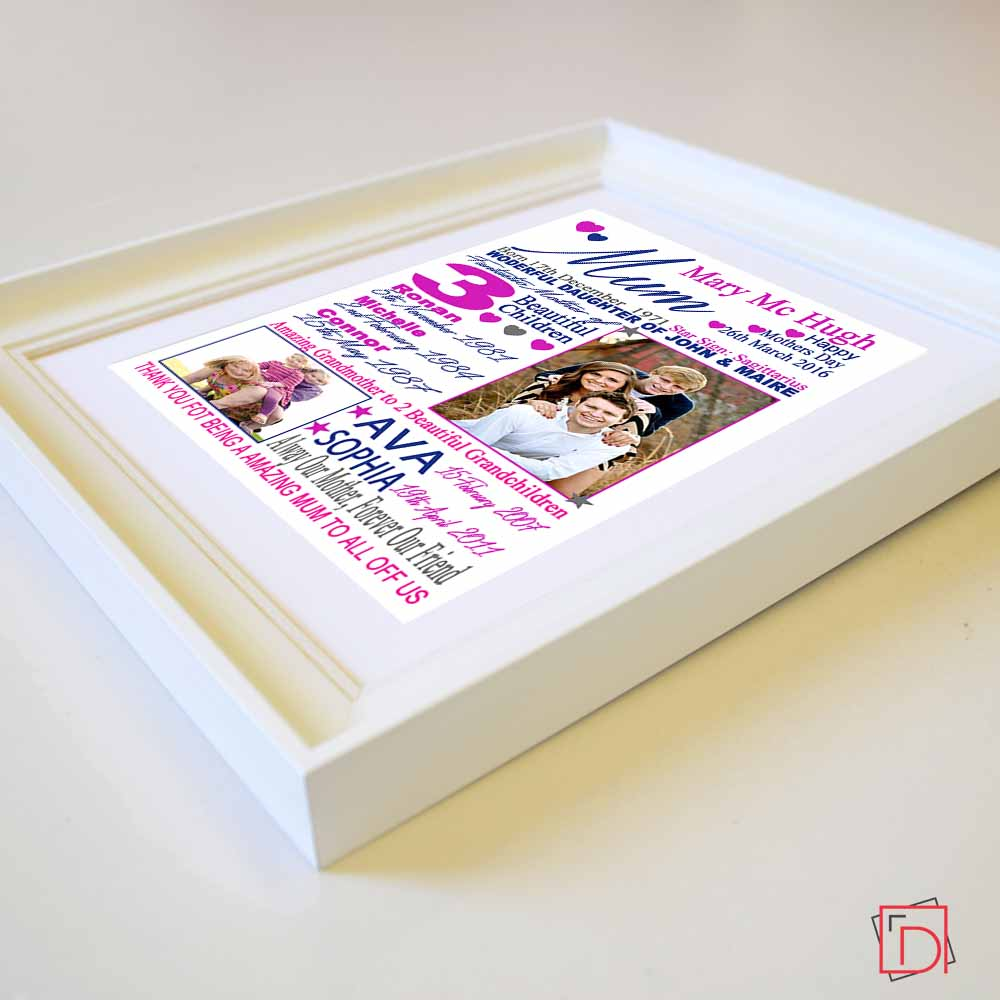 Always Our Mother Forever Our Friend Sentiment Picture Frame Suit Product - Do More With Your Pictures