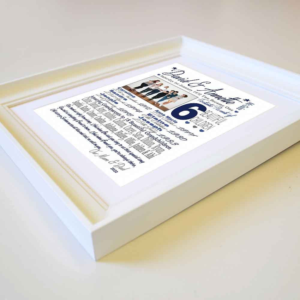This Is Your Life Sentiment Anniversary Frame