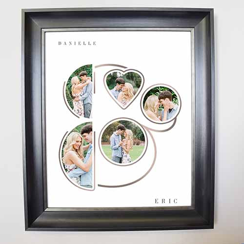 Together As One Framed Photo Collage
