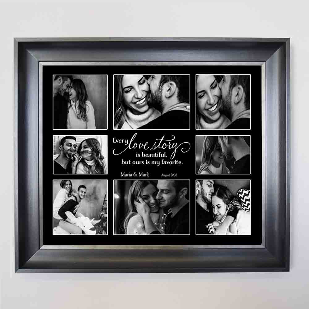 Our Love Story Framed Gift Frame