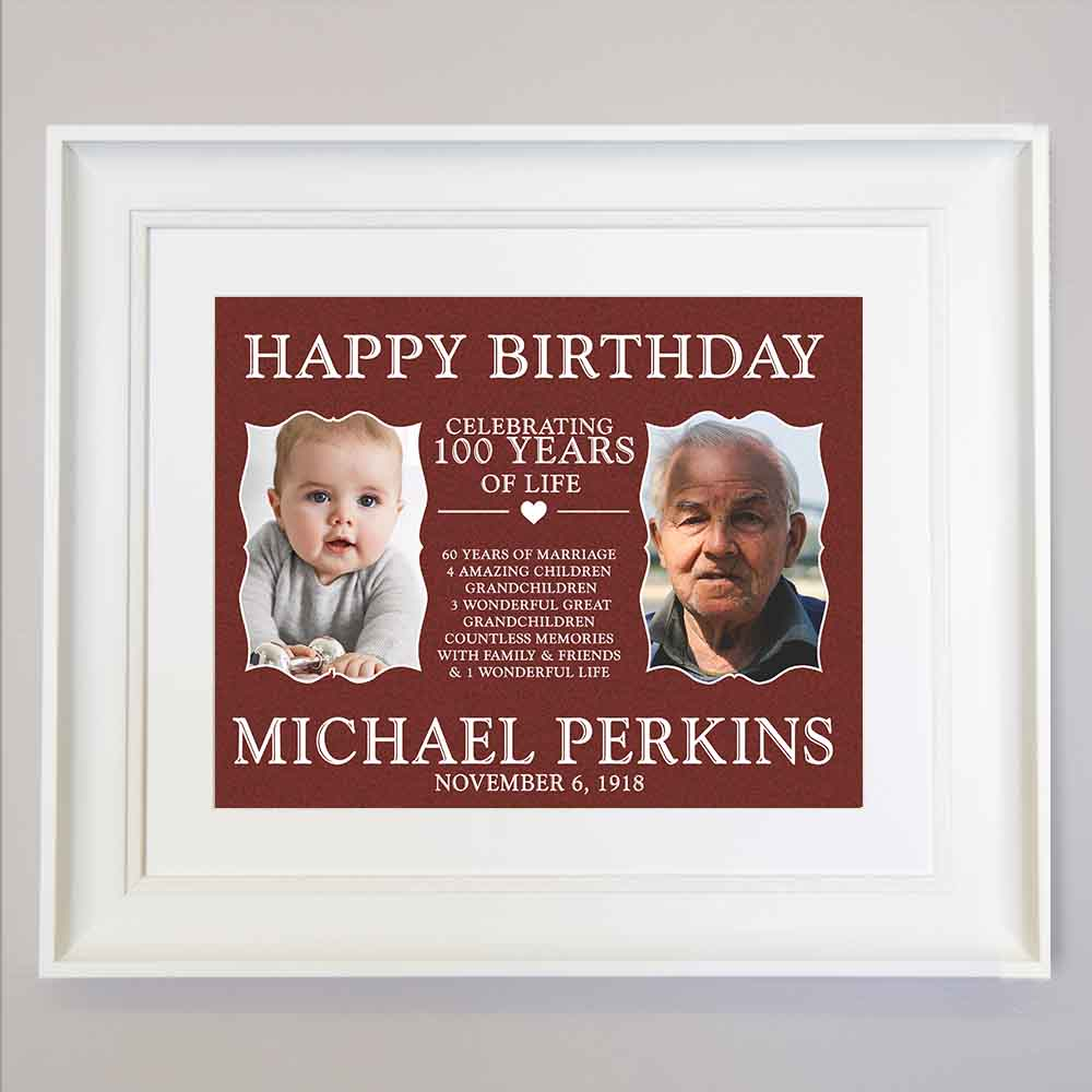 This Is Your Life Birthday Wall Art