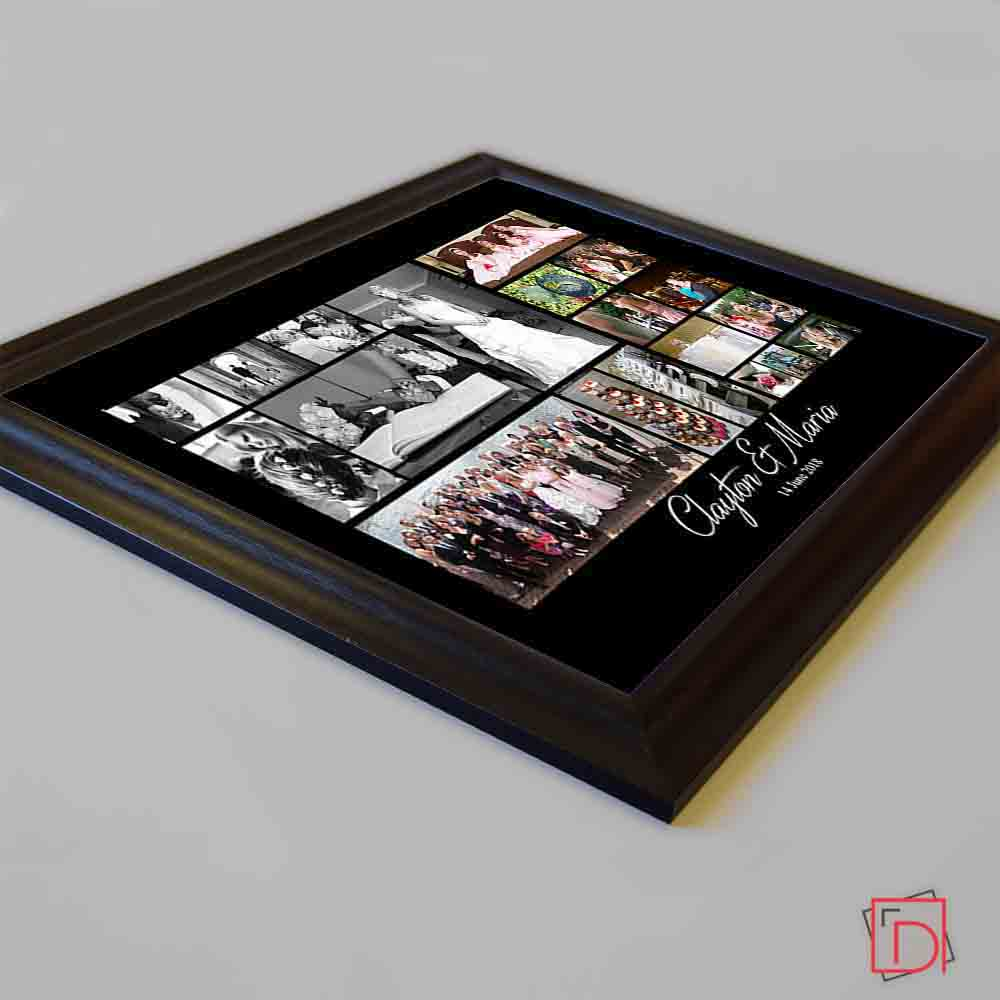 From This Day Wedding Framed Photo Collage - Do More With Your Pictures
