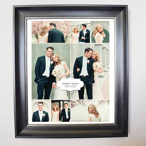 From This Day forward Framed Photo Collage - Do More With Your Pictures