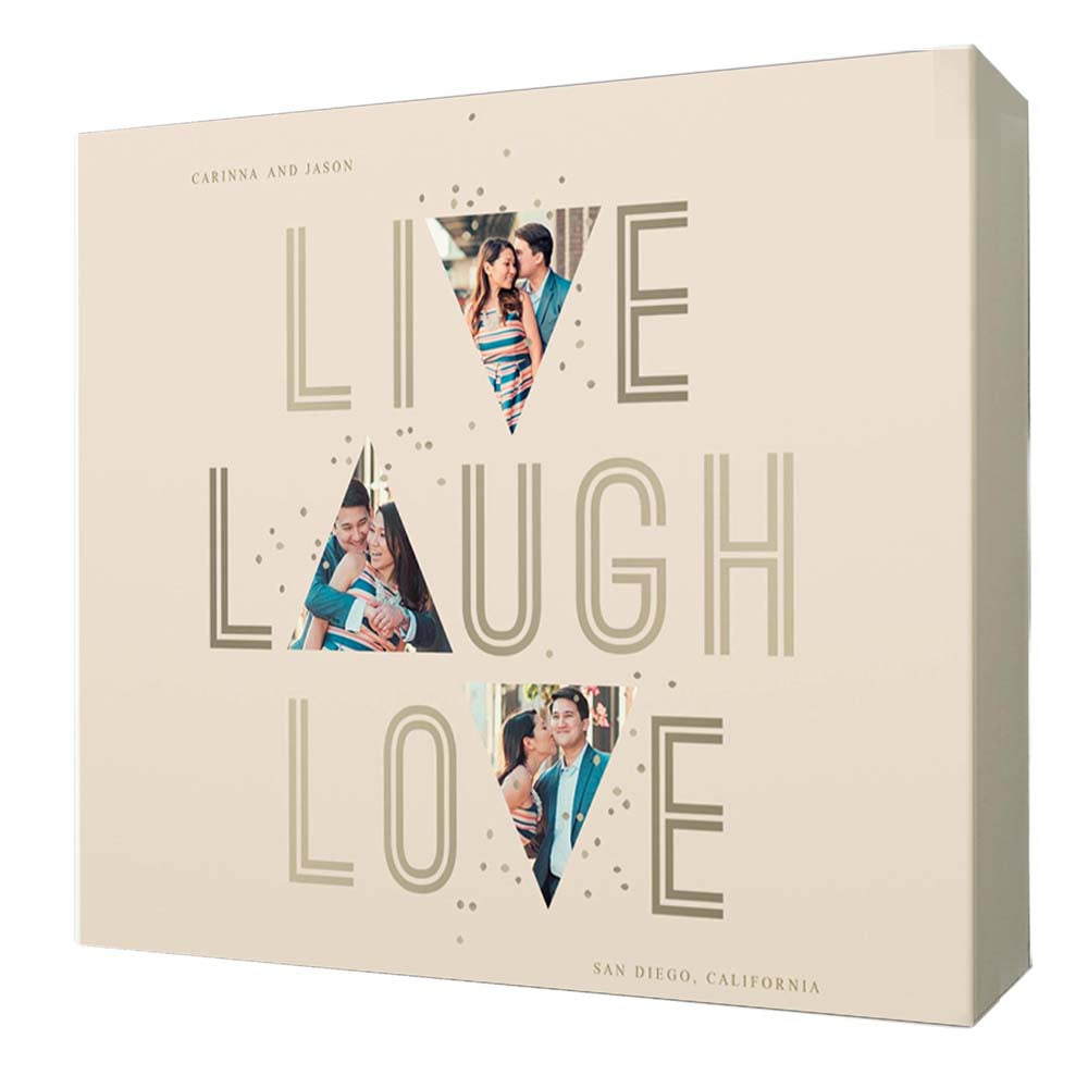 Live, Laugh and Love Framed Photo Collage