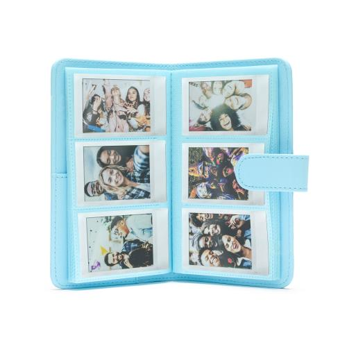 Fujifilm Instax Mini Striped Photo Album | Sea Blue