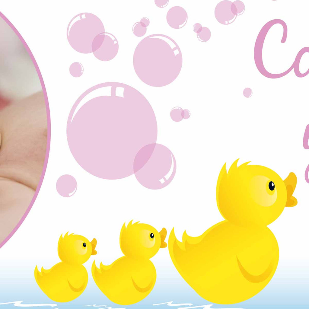 Welcome Home New Baby Personalised Banner