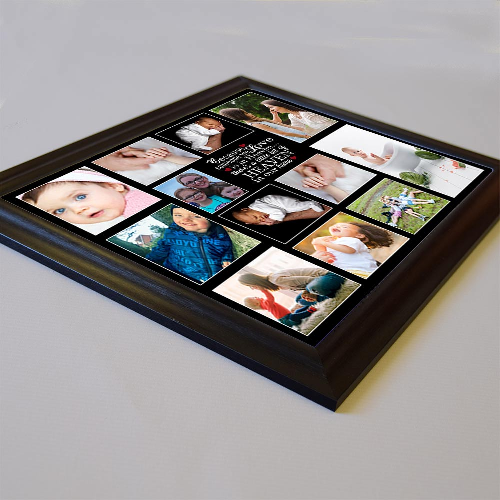 Because Someone We Love Memorial Framed Photo Collage