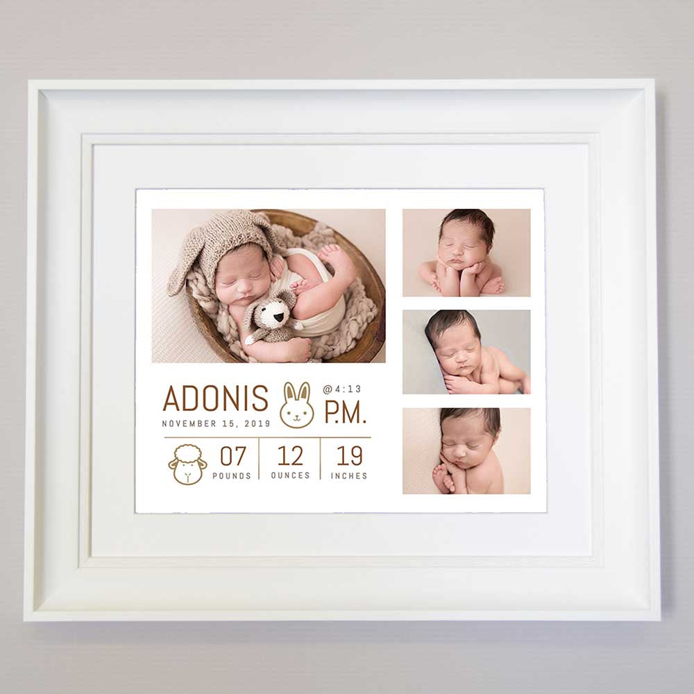 These Little Hands Nursery Art Picture Frame