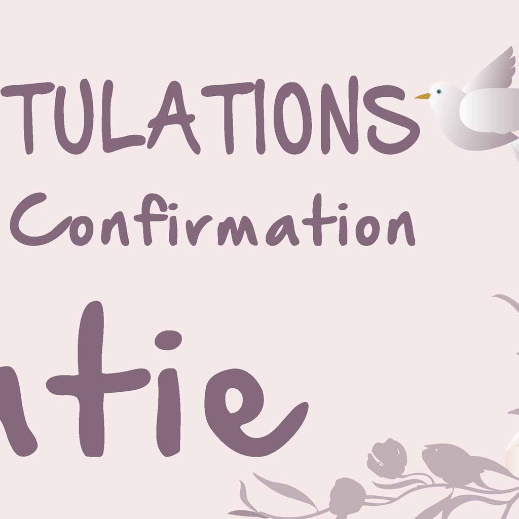 My Confirmation Party Personalised Banner