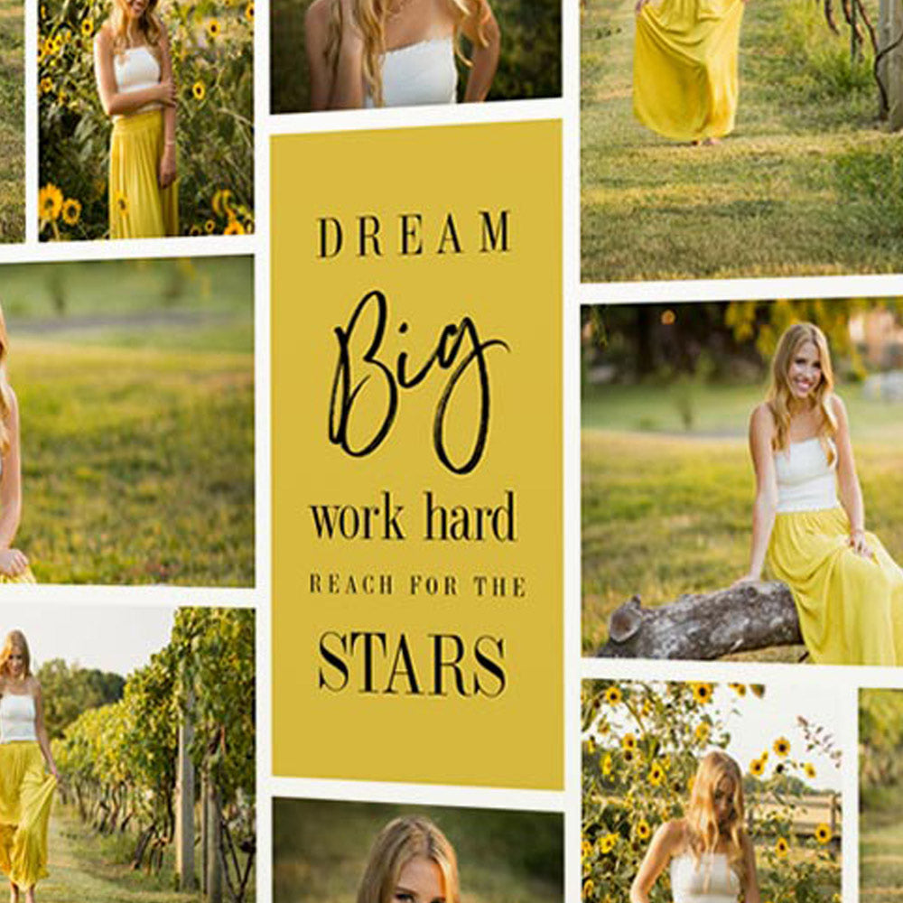 Dream Big And Reach For the Stars On Canvas