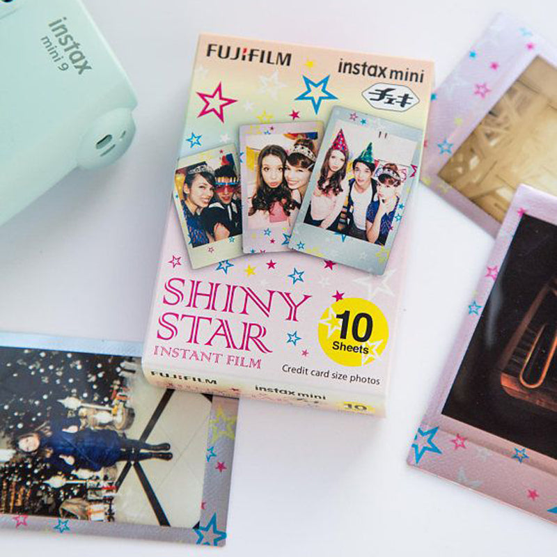 Fujifilm Instax Mini Instant Shiny Star Photo Film | 10 Shots