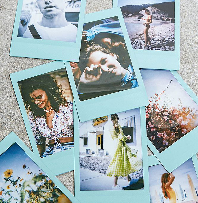 Fujifilm Instax Mini Instant Blue Photo Film | 10 Shots