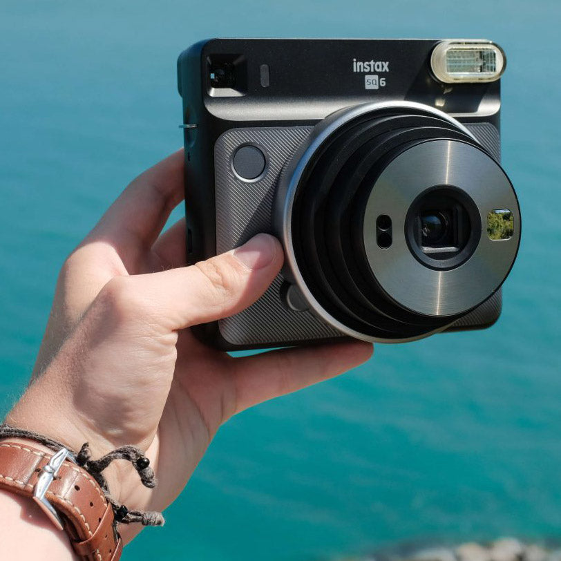 Fujifilm Instax Square SQ6 Instant Camera | Graphite Grey