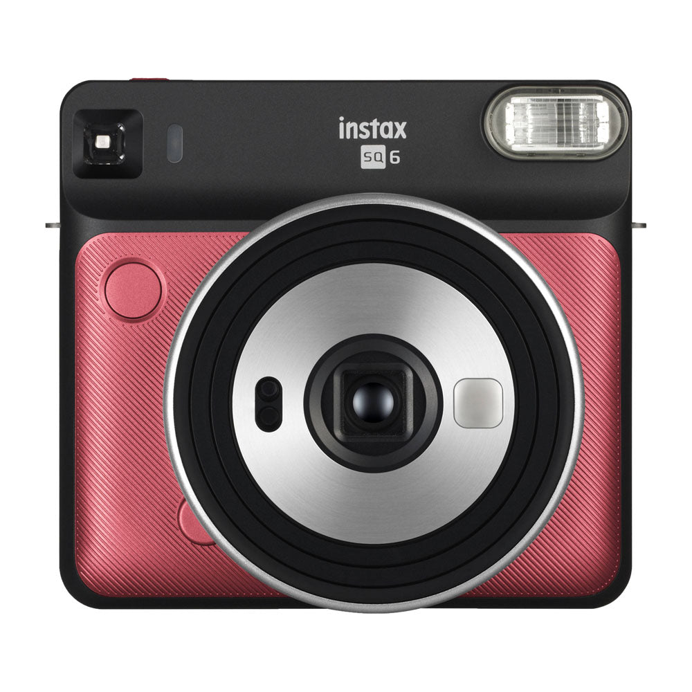 Fujifilm Instax Square SQ6 Instant Camera | Ruby Red