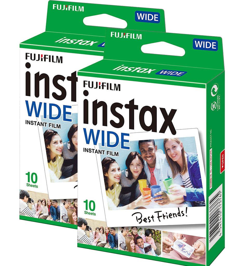 20 Pack | Fujifilm Instax Wide Instant Photo Film