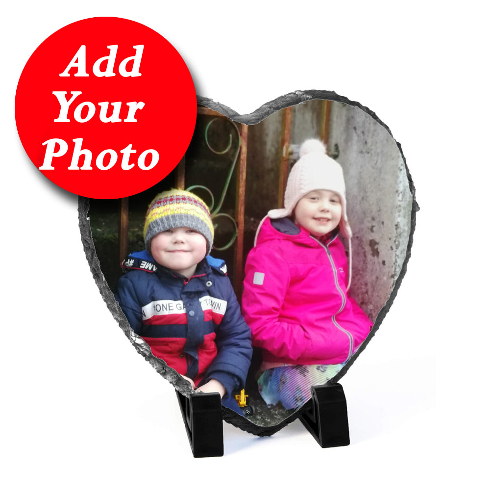 Heart Slate From Your Photo